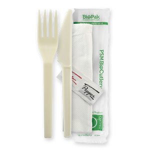 "6"" PSM Knife, Fork, Napkin, Salt and Pepper Set- 250pc"
