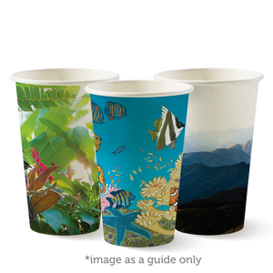 12oz (80mm) Art Series BioCup - 1000 Cups
