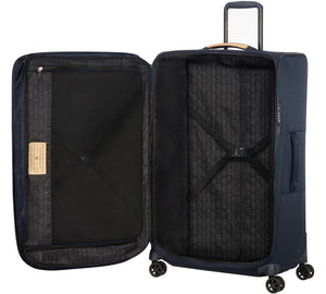 Samsonite Spark ECO Softside Large 79 cm Spinner Suitcase - Black/Blue