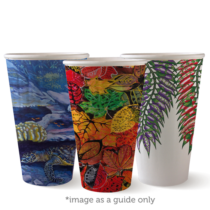 16oz Art Series BioCup - Double Wall- 600 Cups