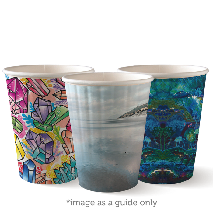 12oz Art Series BioCup - Double Wall- 1000 Cups