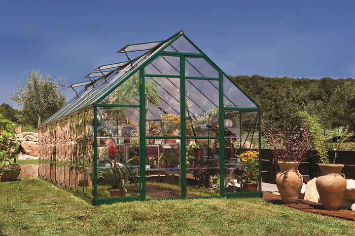 Maze 8′ x 20′ Green Frame Greenhouse pre order for end July delivery