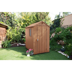 Keter Darwin 4x6 Outdoor Storage/Garden Shed (Brown) $8.90 Shipping Australia Wide -Pre order Mid November