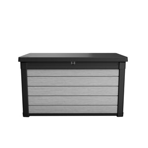Keter Denali 100g Outdoor Storage Box (Deco Grey/Anthracite) $8.90 Shipping Australia Wide