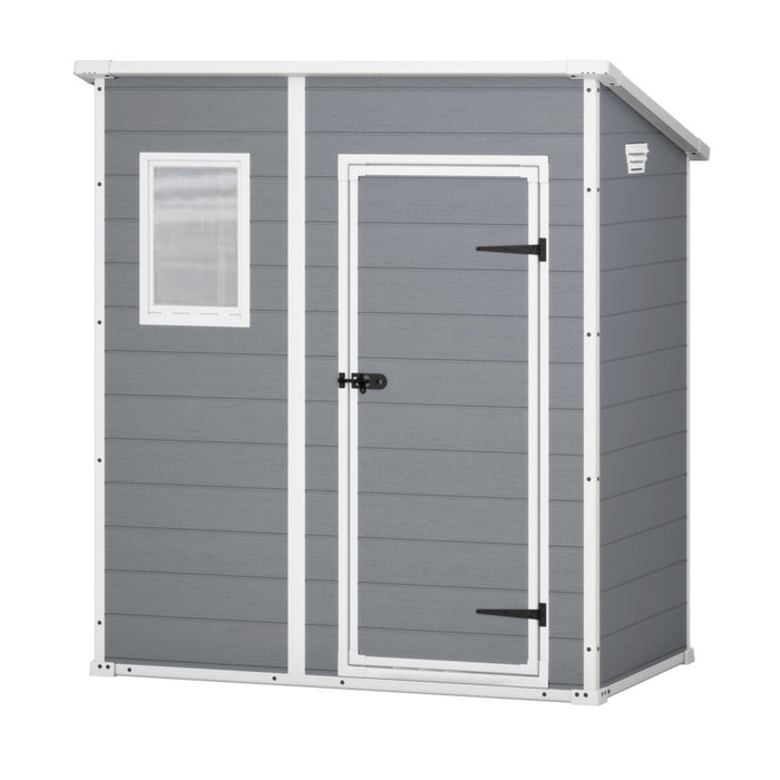 Keter Manor Pent 6'x4′ GARDEN SHED 1.8mx1.1m $8.90 Shipping Australia Wide