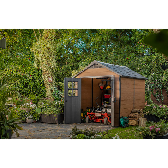 KETER NEWTON 757 GARDEN SHED 2.3mx2.2m $8.90 Shipping Australia Wide
