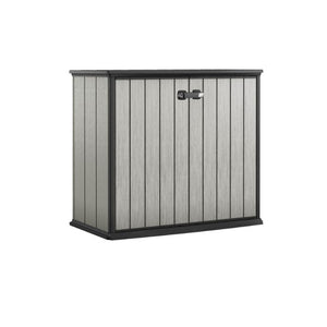 Keter Patio Store Outdoor Storage/Wheelie Bin Shed (Deco Grey/Anthracite) $8.90 Shipping Australia Wide