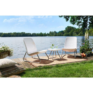 Keter Rio Balcony Set White