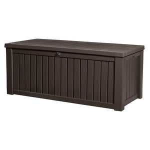 Keter Rockwood Outdoor Storage Box (Espresso Brown) $8.90 Shipping Australia Wide