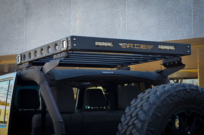 BLACK FRIDAY - JK 4-Door Hard Top Roof Rack Combo