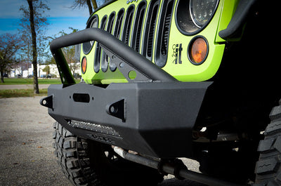 ACE JK Expedition Series Stubby Bumper Combo (Bull Bar)
