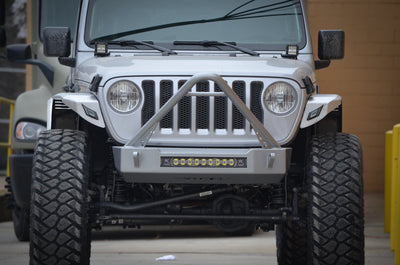BLACK FRIDAY - ACE JL Pro Series Front Bumper Combo