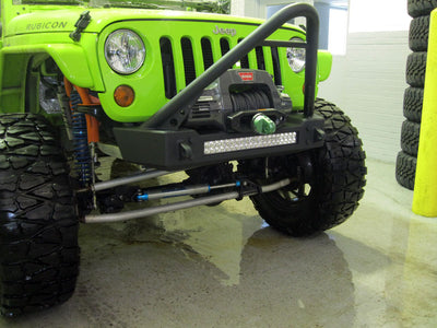 JK Bumper and LED Light Combo - Stinger