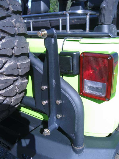 ACE JK/JL Pro Series Hi-Lift Jack Tire Carrier Mount