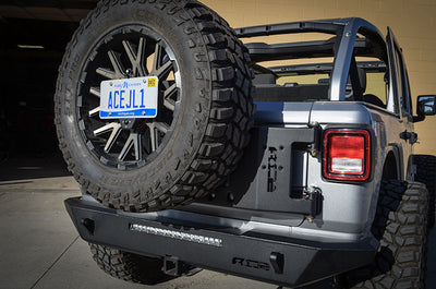 ACE JL Stand Alone Tire Carrier