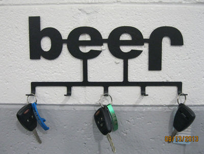 ACE Beer Jeep Keychain Holder