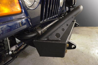 TJ Bumper and LED Light Combo - Bull Bar
