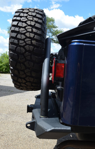 ACE TJ Pro Series Rear Bumper with Tire Carrier