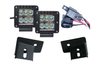 ACE JK A-Pillar Light Mounts Combo - Lifetime LED Package