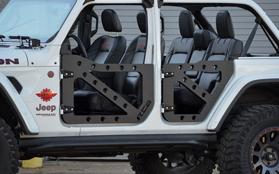 ACE JL Trail Doors - Fronts Only