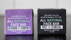 Two face bars from our zero waste starter pack