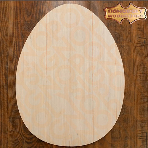Easter Egg Door Hanger Unpainted