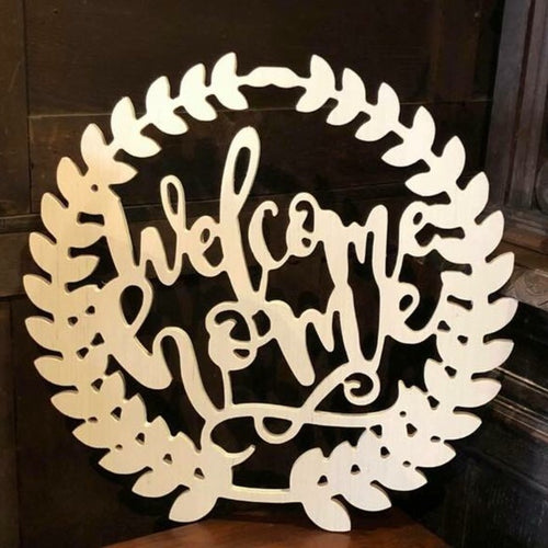 Welcome Home Wreath 18