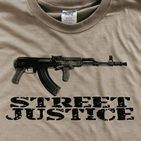 STREET JUSTICE t-shirt