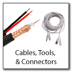 Cable Tools and Connectors CCTV