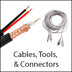 CCTV Cable, Connectors, Tools