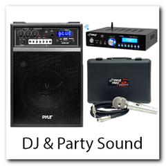 DJ Party Sound Equiptment