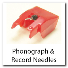 Phonograph and Record Needles