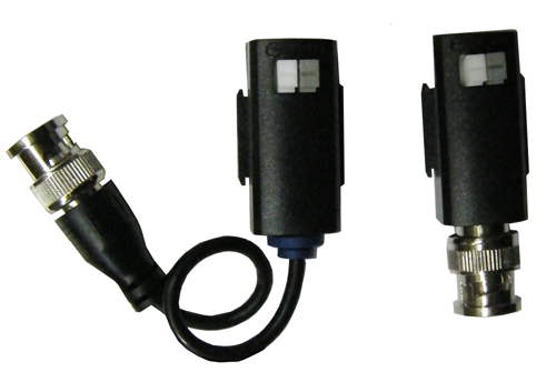 1 to 1 Video Balun - BNC to CAT5 Twisted Pair Video Adapter EC-VBP2