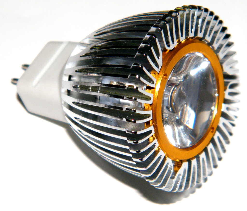 1 Watt 12V LED Spotlight with MR11 Base EC-MR11-12X-1x1W-LED Lighting-EC-Jayso Electronics