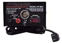 10 Amp Regulated Power Supply, 13.8 (12)VDC, Bench/Shelf Mount With Automotive Style Power Port PS-15K-Batteries, Power Supplies, & Transformers-Various-Jayso Electronics