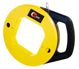 100' Flat Steel Fish Tape In Winder Reel 900-148-Tools-Eclipse-Default-Jayso Electronics