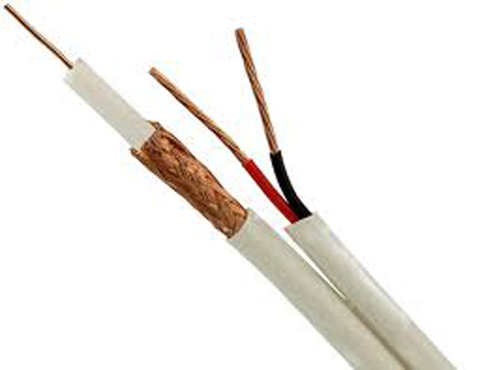 1000 Ft. Pullout Box Siamese Plenum Video/Power Cable 95% Copper Braid JSC-5918P/1000-Wire & Cable-Various-Jayso Electronics