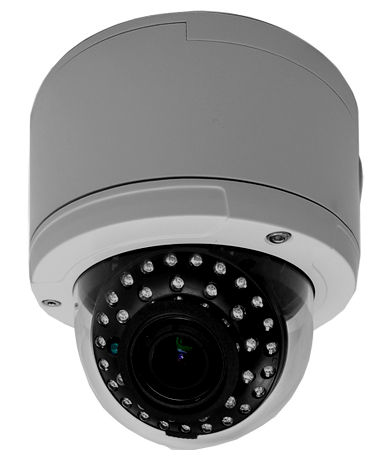 1080P 2 Megapixel Vandalproof HD TVI Ball Camera w/ 2.8-12mm Vari-focal Lens JTVI-VD1-1080-VF-Security Cameras & Recorders-Various-Jayso Electronics