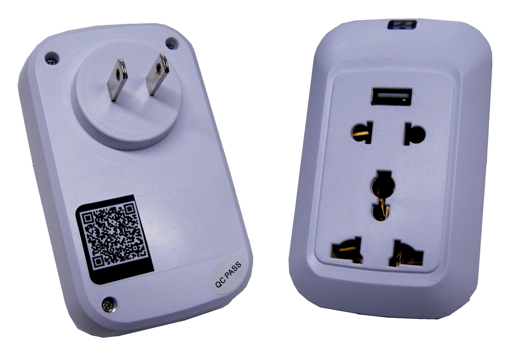 10A Wifi Smart Outlet, Remote Control Power Outlet JEWFSO-LED Lighting-Jayso Electronics-Jayso Electronics
