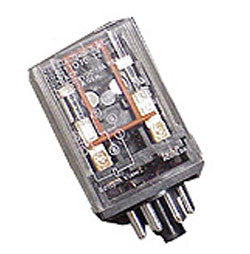 12 VDC Plug-In Relay, High Current, NTE, R02-11D10-12-Timers & Relays-NTE-Jayso Electronics