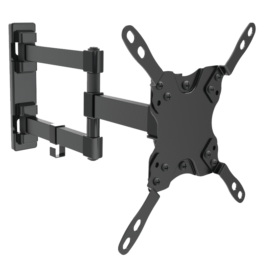"13""~42"" TV/Monitor Wall Mount with Dual Pivot Swivel Arm, LCD & LED/LCD, JWB-5S-Home Theater & Audio-Various-Jayso Electronics"