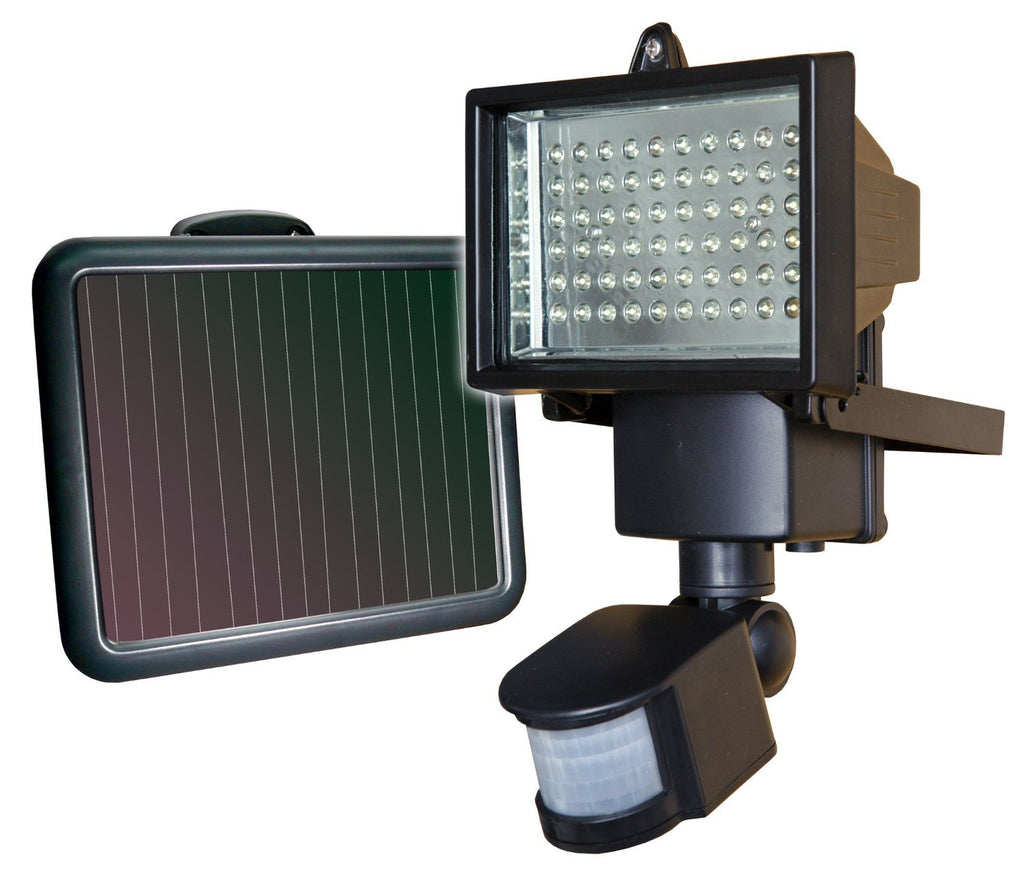 14 Watt Solar Motion Sensor Light w/ Separate Solar Panel ECLED-SOLAR2-LED Lighting-Various-Jayso Electronics