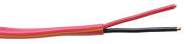 18 Ga. 2 Conductor Red FPLR Fire Alarm Cable, 1,000 Ft. Spool JFW-182-Wire & Cable-Various-Jayso Electronics
