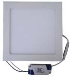 "18 Watt, 8.6"" Square Dimmable LED Panel Light with Driver EC-SPLED-18W-3000K-D-LED Lighting-Elyssa Corp.-Jayso Electronics"