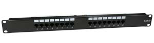 "24 Port Patch Panel, 19"" Rack Mount, Cat-6 JPP-HC6-24-Network & Computing-Various-Jayso Electronics"