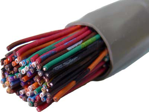 25 Pair 24 Gauge Communication Cable JTP-2425-Wire & Cable-Various-100'-Jayso Electronics