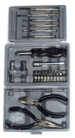 27Pc Hobby Tool Kit with Storage Hard Case JTK-1018TK-Tools-Various-Jayso Electronics