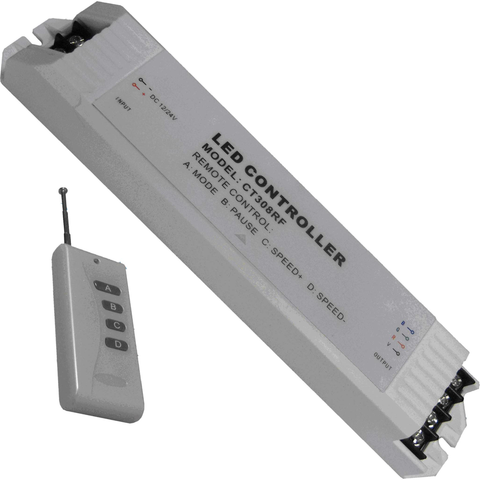 3-Channel LED Remote Control Dimmer JE-QX-308-RF-LED Lighting-Jayso Electronics-Jayso Electronics