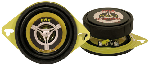 3.5'' 120 Watt Two-Way Round Speakers (Pair) PLG3.2-Automotive Accessories-Various-Jayso Electronics