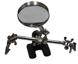 3RD Hand Parts Holder With Magnifier JEHH-Tools-Various-Jayso Electronics